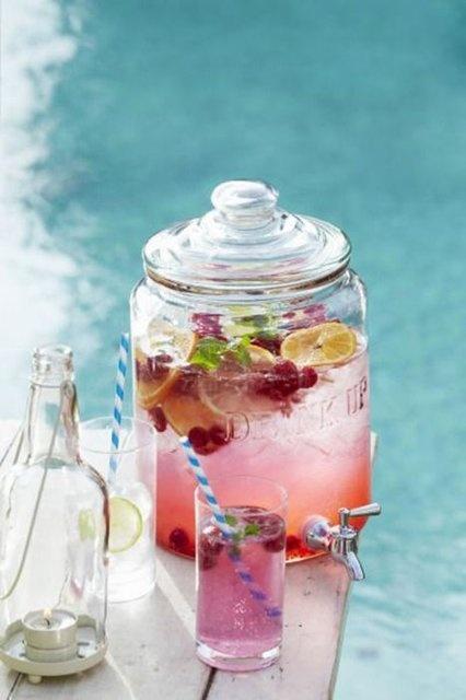 משקאות מרעננים לחתונת קיץ