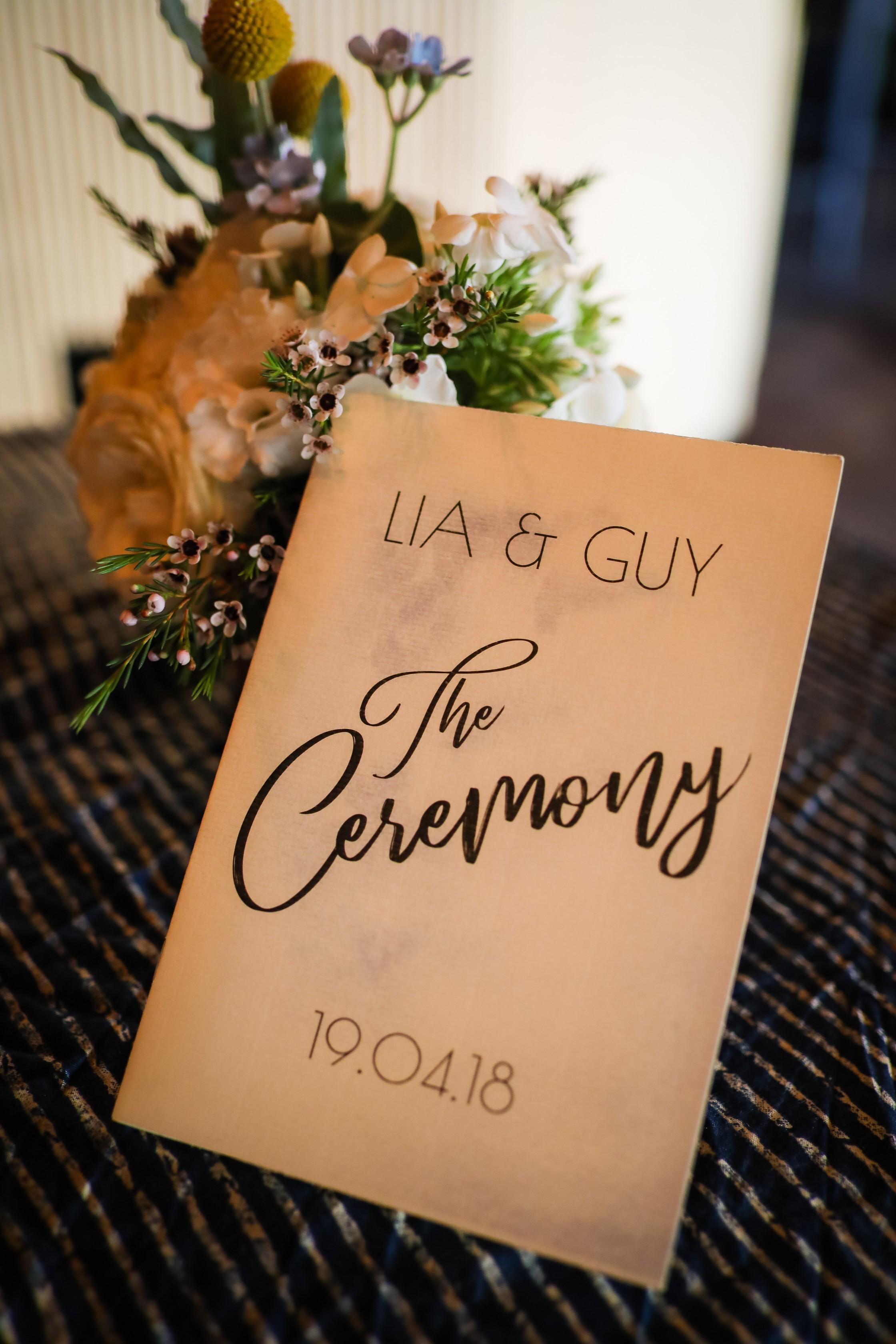 פעמיים כי טוב: החתונה הכפולה של ליה וגיא
