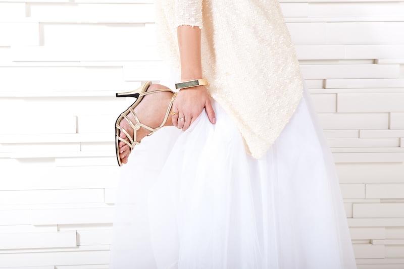 משהו קטן וטוב: נעלי כלה