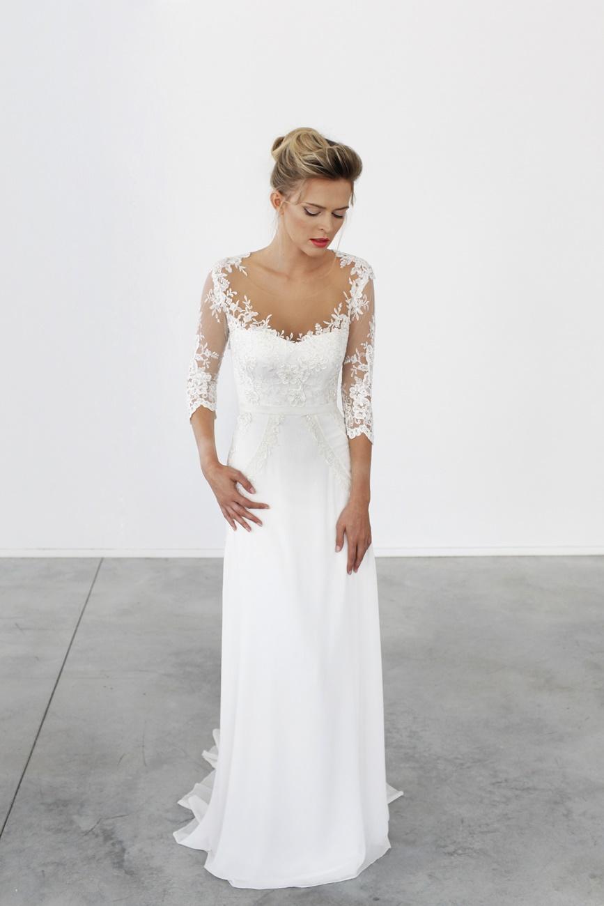 עשר שאהבנו: שמלות כלה עם שרוולים