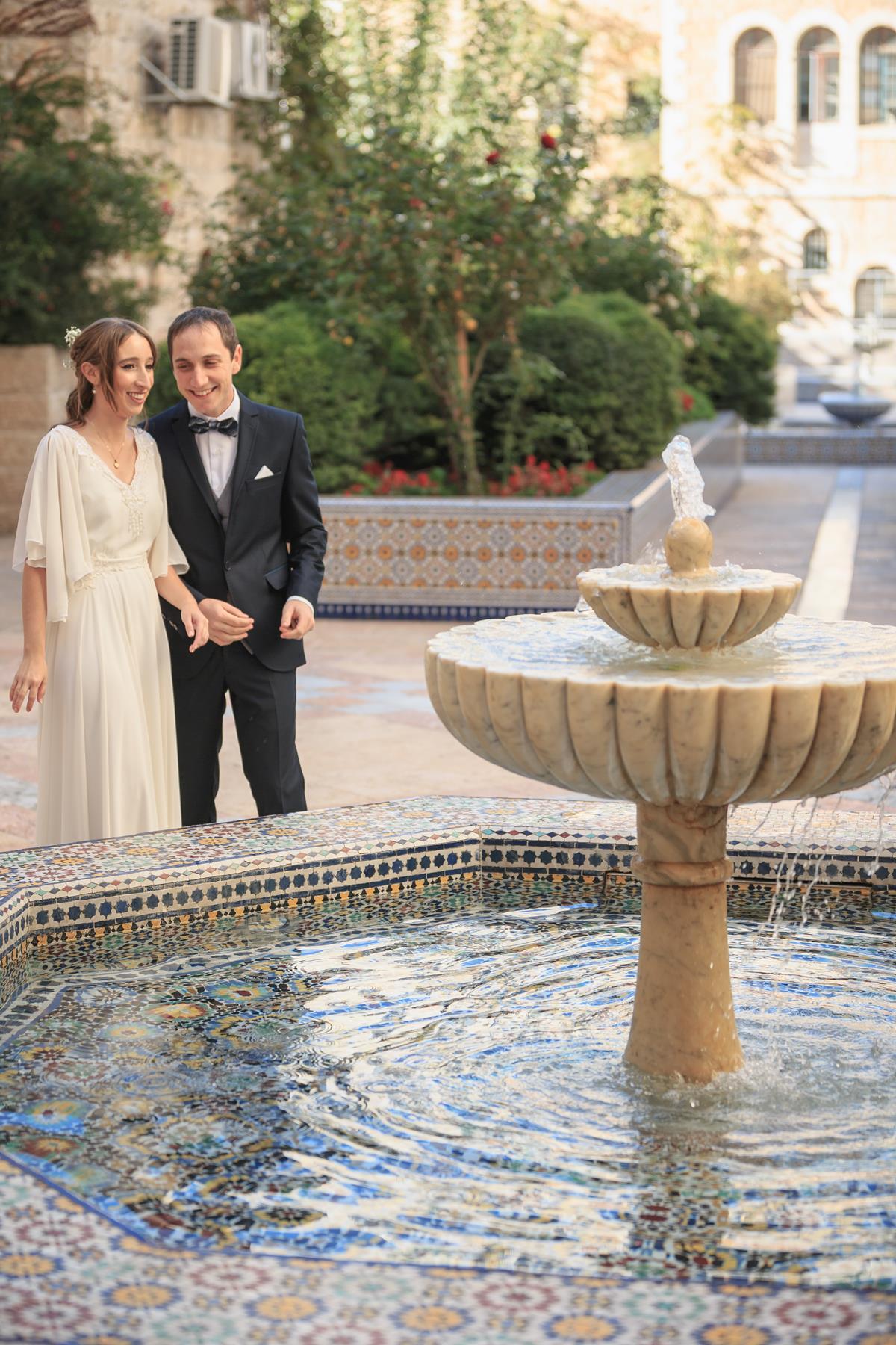 החתונה הירושלמית של קטי ומיכאל