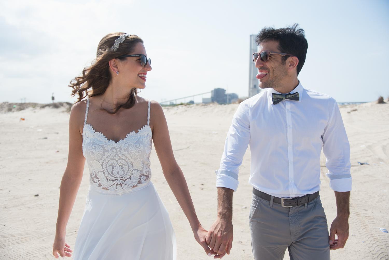 חתונה ליד הים בסגנון טרופי