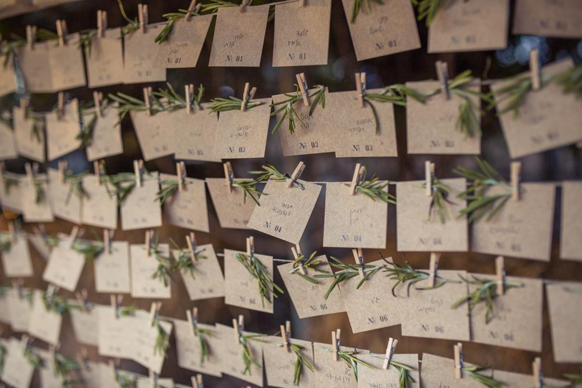 חתונת ה-DIY של ירדן ואליעד