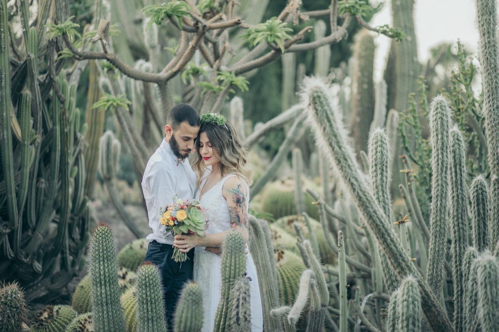 השראה: צילומי החתונה המפתיעים של חן ורן