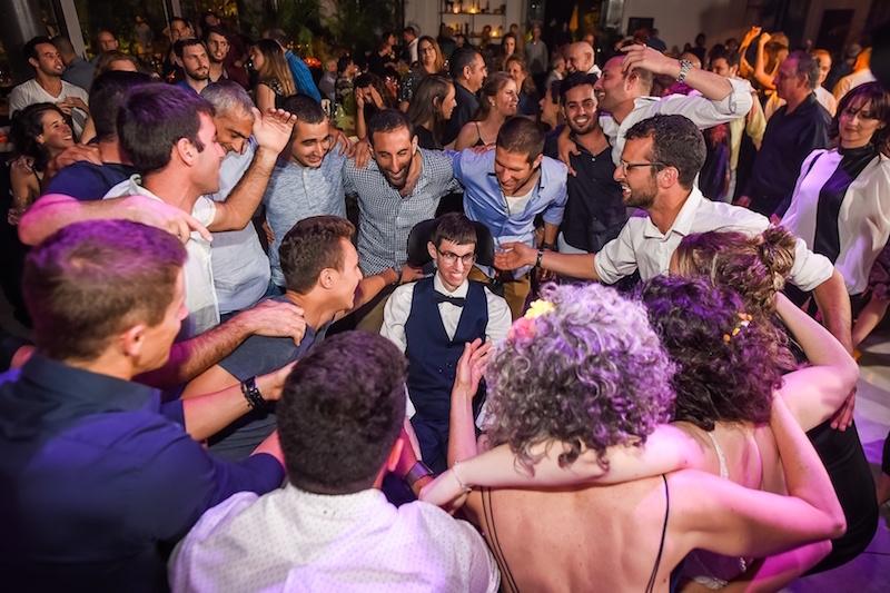 סיפור אהבה מעורר השראה: החתונה של גיה ועמרי
