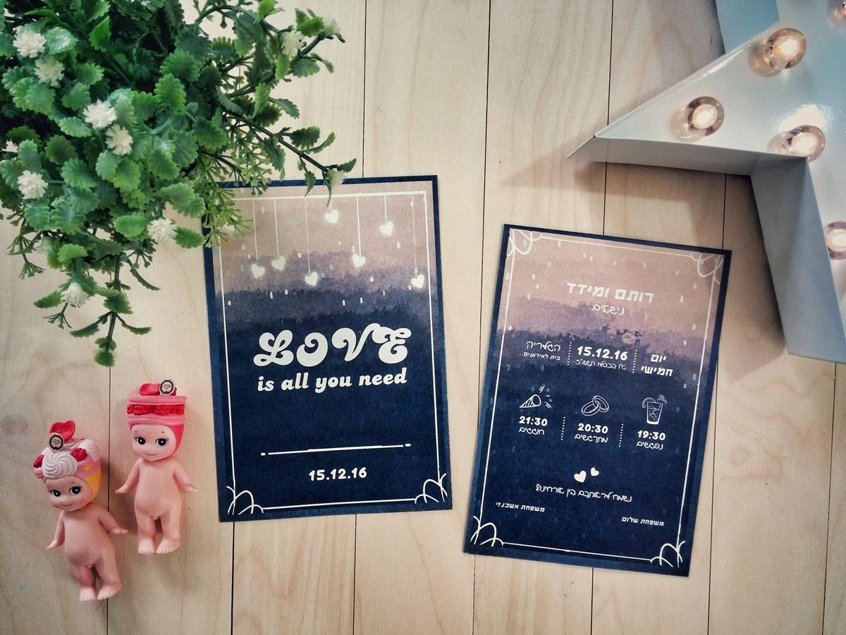 הזמנה לחתונה: השראה להזמנות מהממות לאירוע שלכם