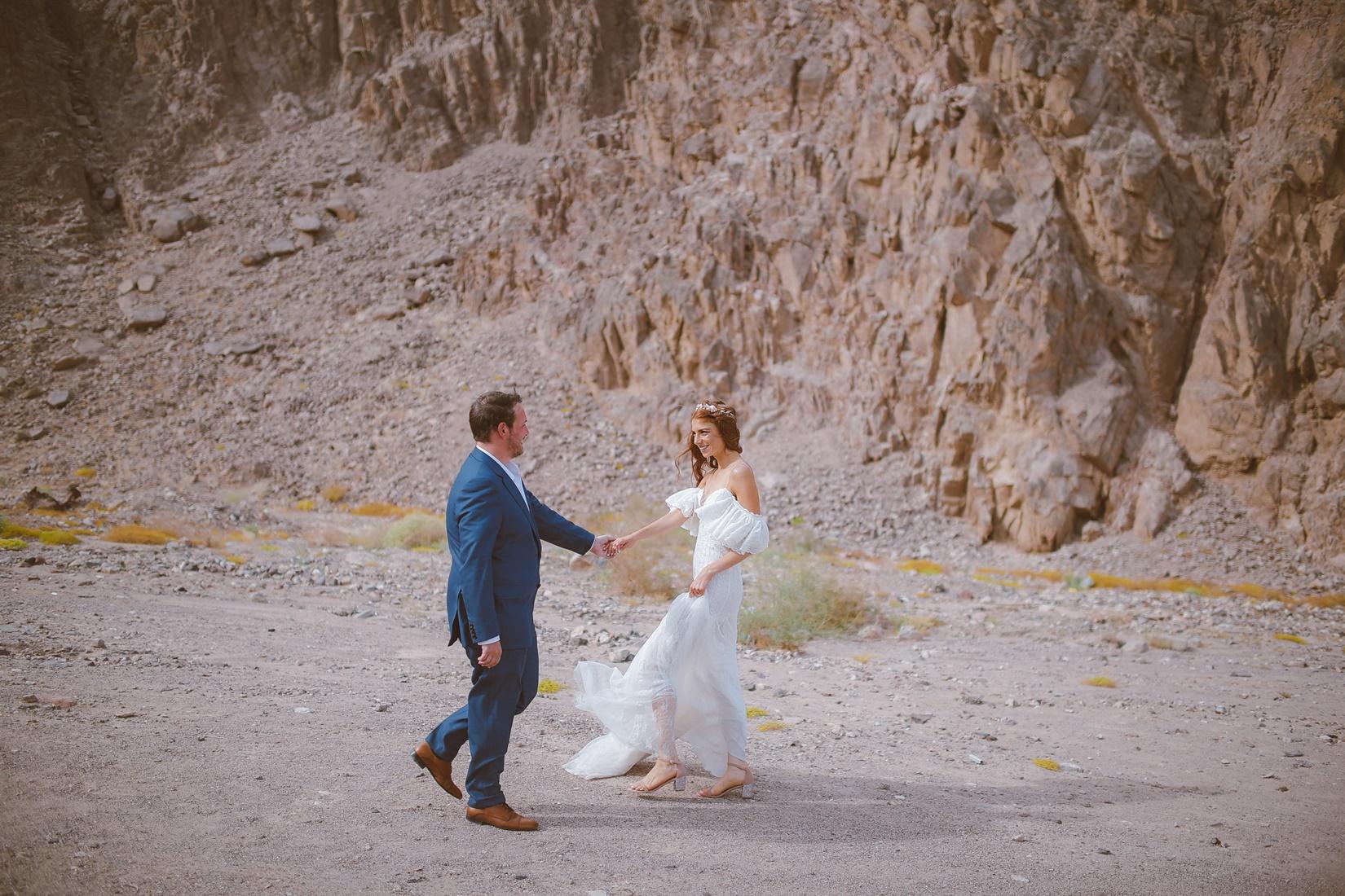 """סופ""""ש חתונה באילת: החתונה של מאיה ורטהיימר ואסף זמיר"""