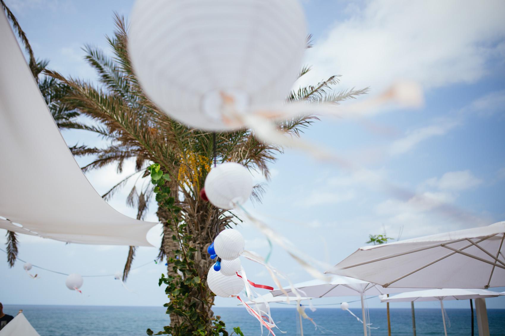 קו ראשון לים: חתונת סוף הקיץ של גל ועומרי