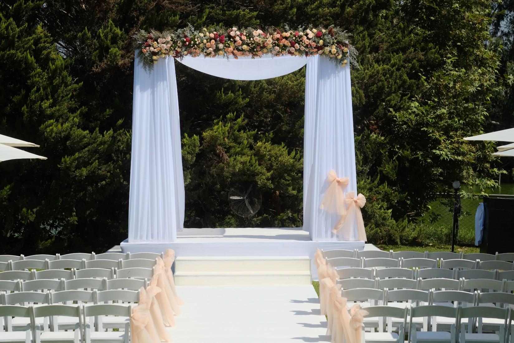 אלגנטיות של ערב בשישי בצהריים: החתונה של שיר ורועי