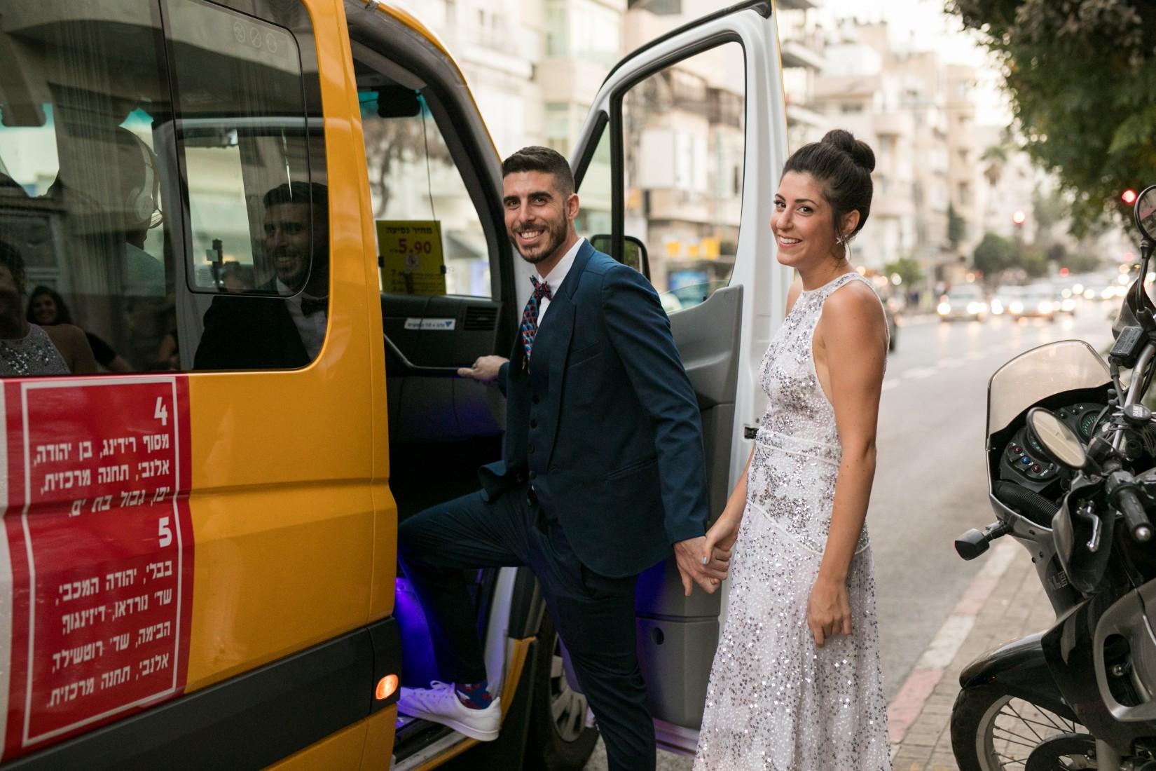 להתחתן במקום העבודה: היום הגדול של יהל וחיים