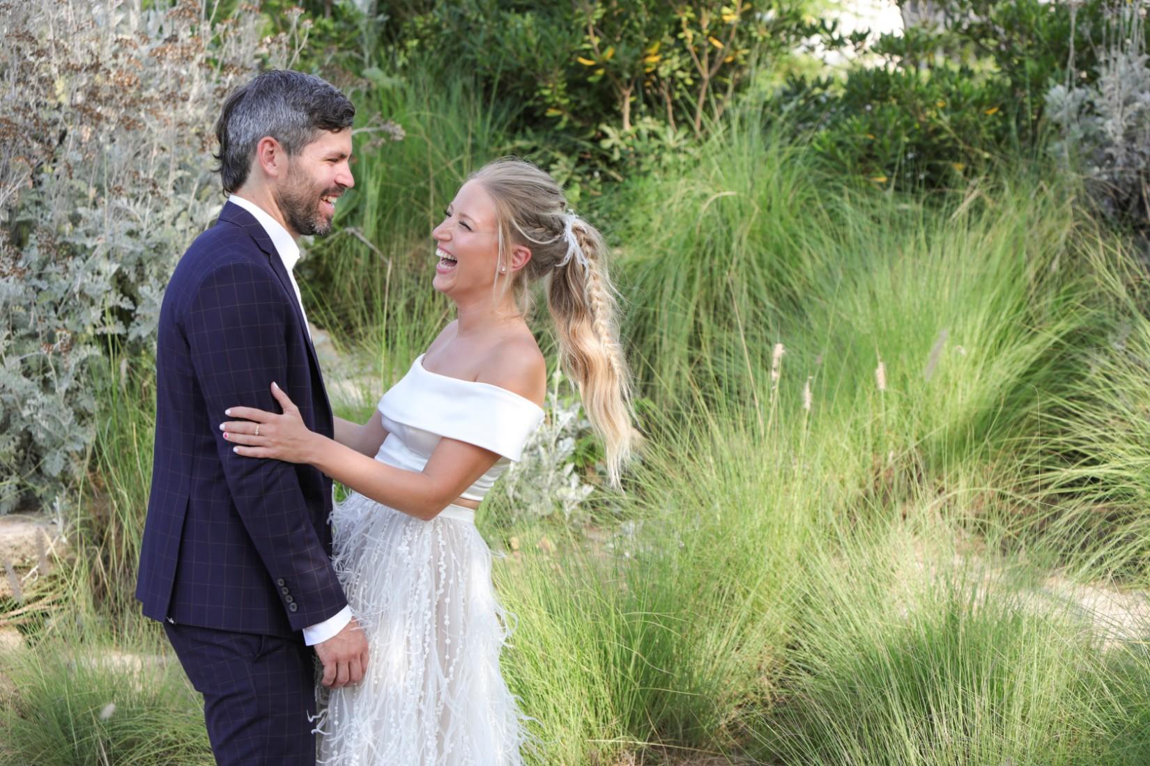 good vibes only: החתונה של הלה ושגיא