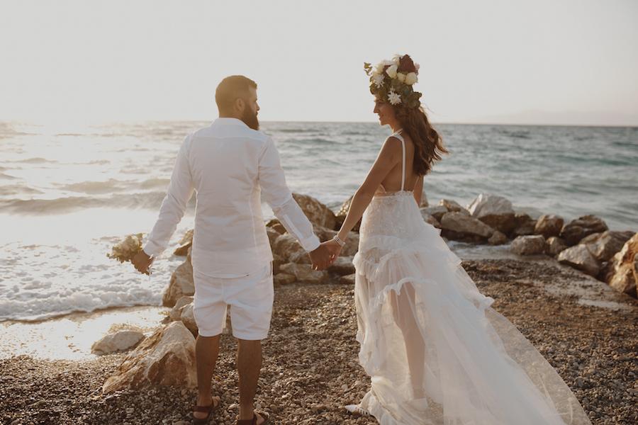 All White Everything: החתונה היוונית של שני ועומר