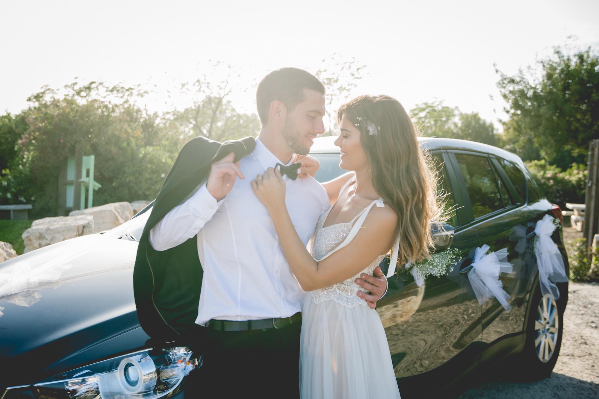 המרחק קטן עליהם: החתונה של אופיר ויניב בגן האירועים אלכסנדר