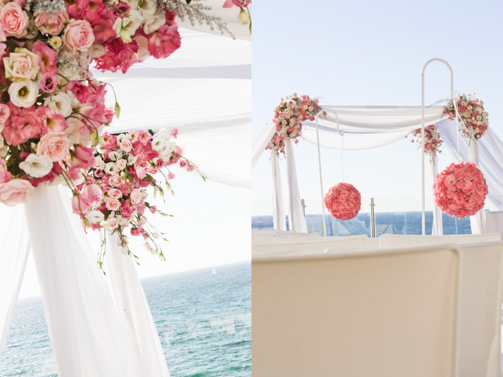 A Classic Wedding By The Sea