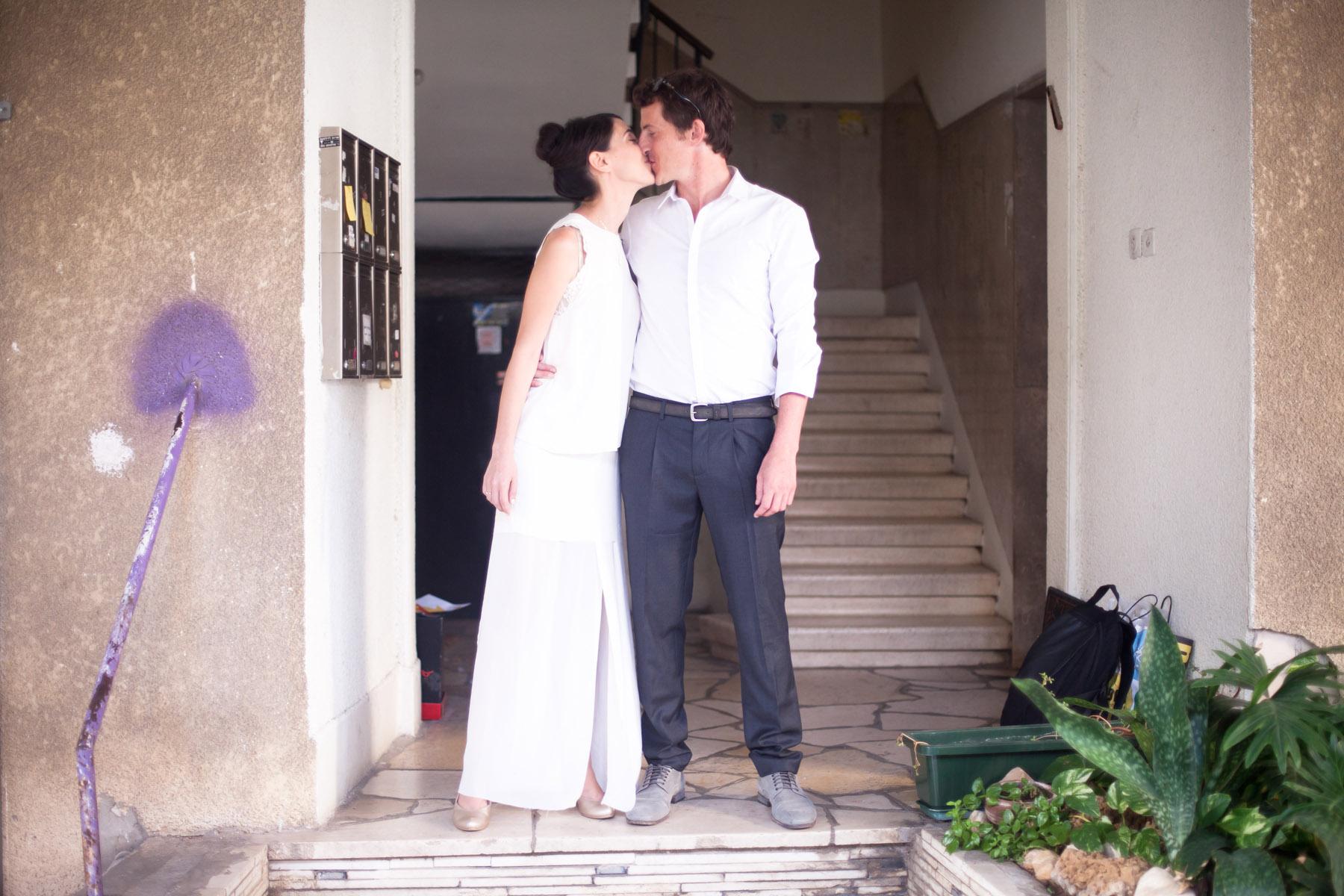 Avital & Tzachi's Urban Wedding