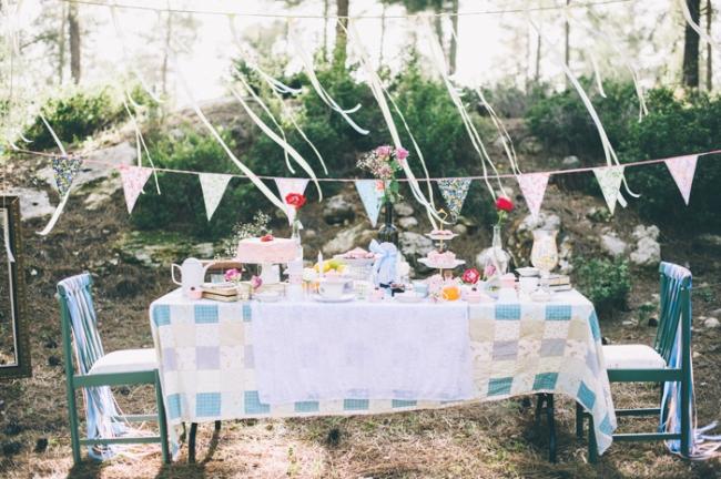 DIY Tea Party Engagement