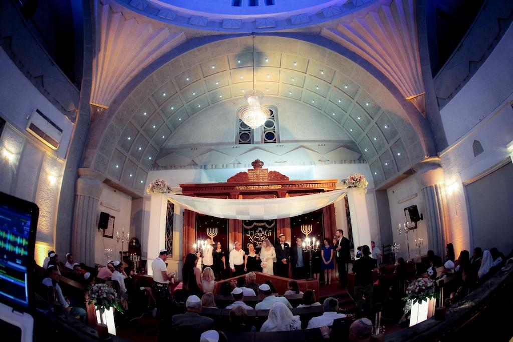 Vintage Wedding at Ohel Moed