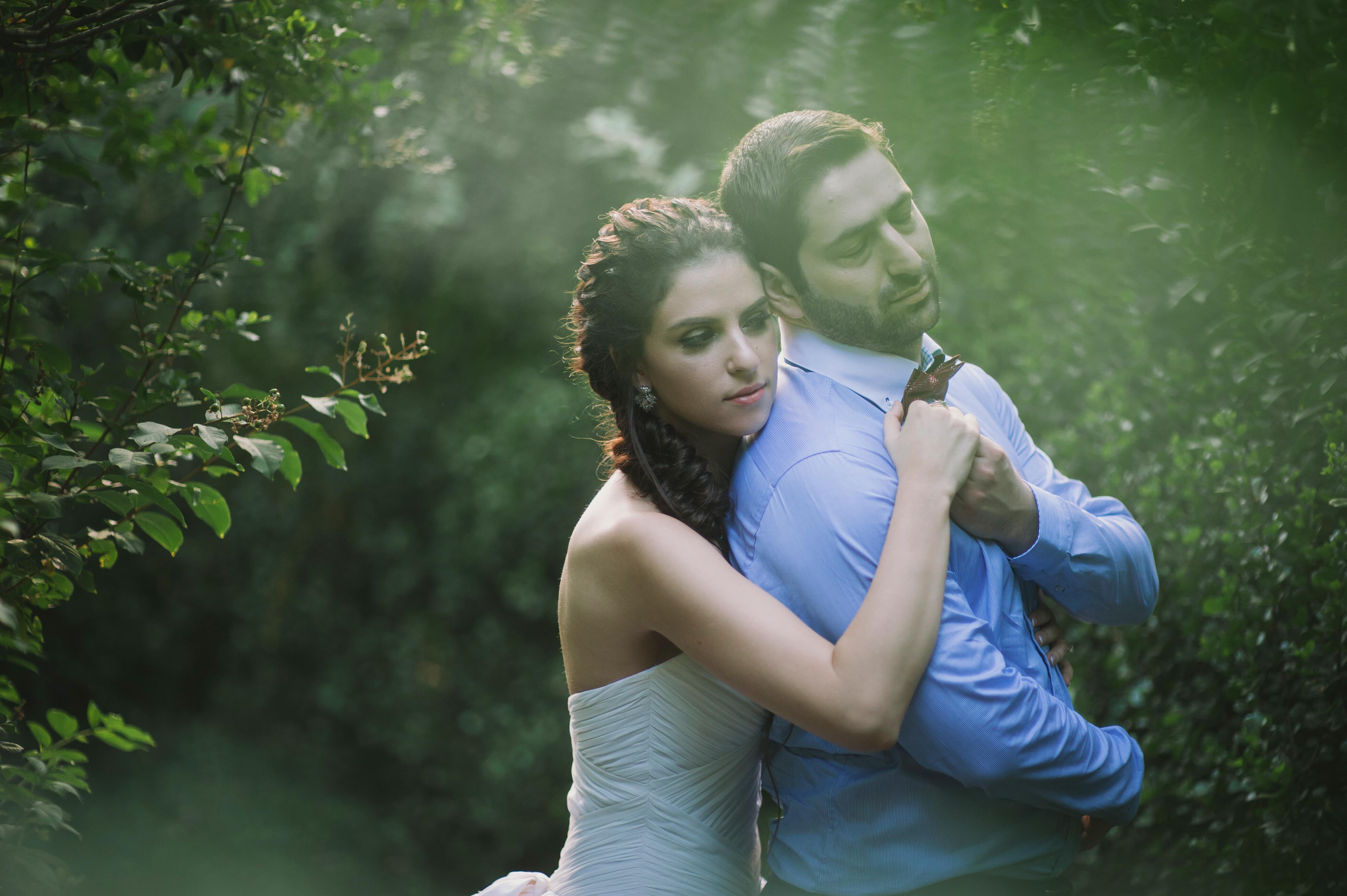 A Rock and Roll Woodland Wedding