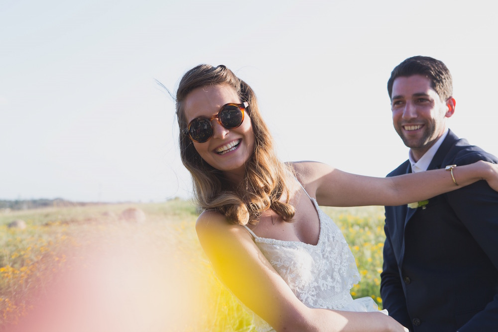 Inbar & Maor's Chic Wedding