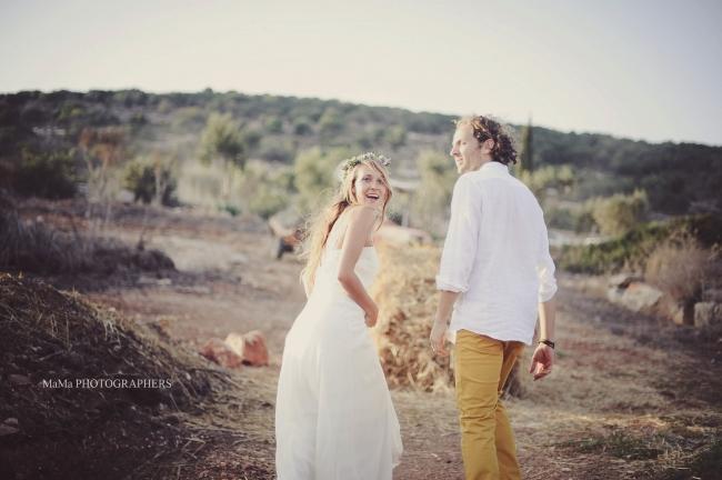 חתונה בחווה אורגנית