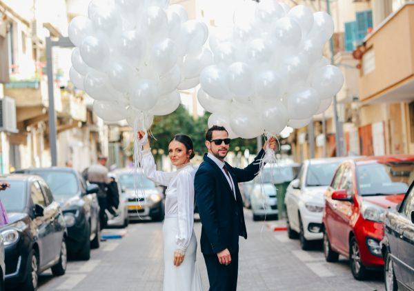 שלושה לוקיישנים, שני אירועים, יום אחד: החתונה של שני ומעיין