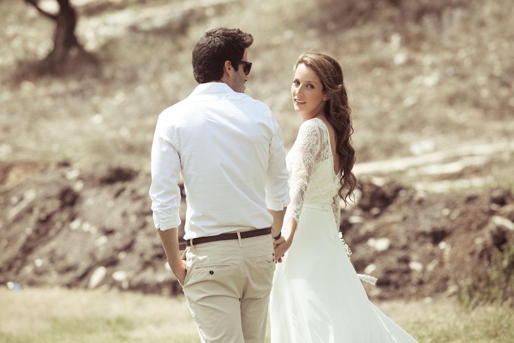 חתונה קסומה בקיבוץ: שירה ודניאל