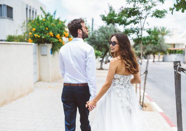 חגיגה של סטייל: החתונה של לי ודן בפארק הירקון