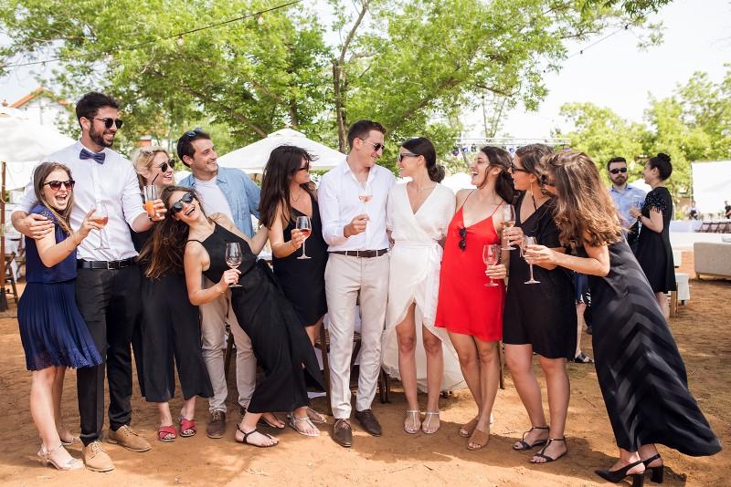 חגיגת אהבה ישראלית: החתונה של מיטל ואסף