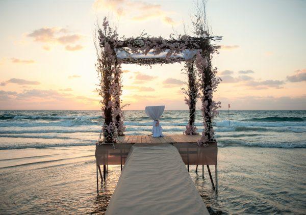 Surf's Up: חתונת החוף של מונדה ויונתן