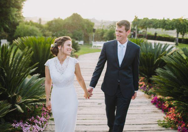 דברים שרואים משם: החתונה של מיכל וערן