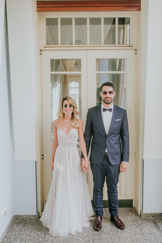 חגיגת אהבה ביפו העתיקה: החתונה של עדי ואיתי