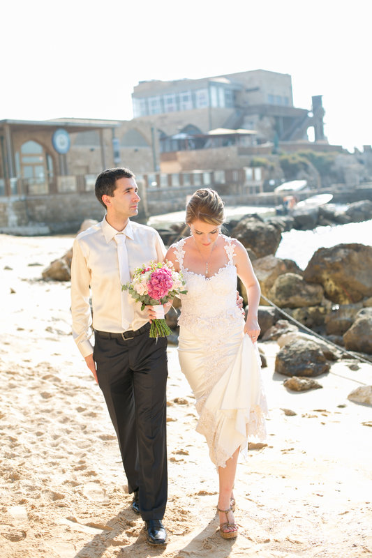 חתונה אינטימית ליד הים