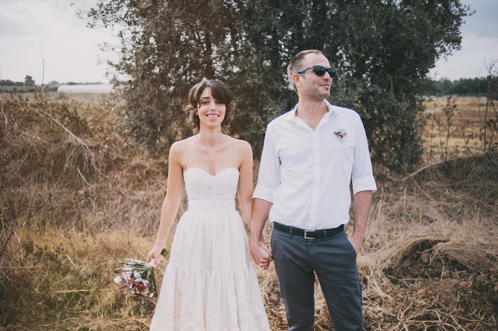 חתונה בגן אירועים הנחלה: מיטל וזמר
