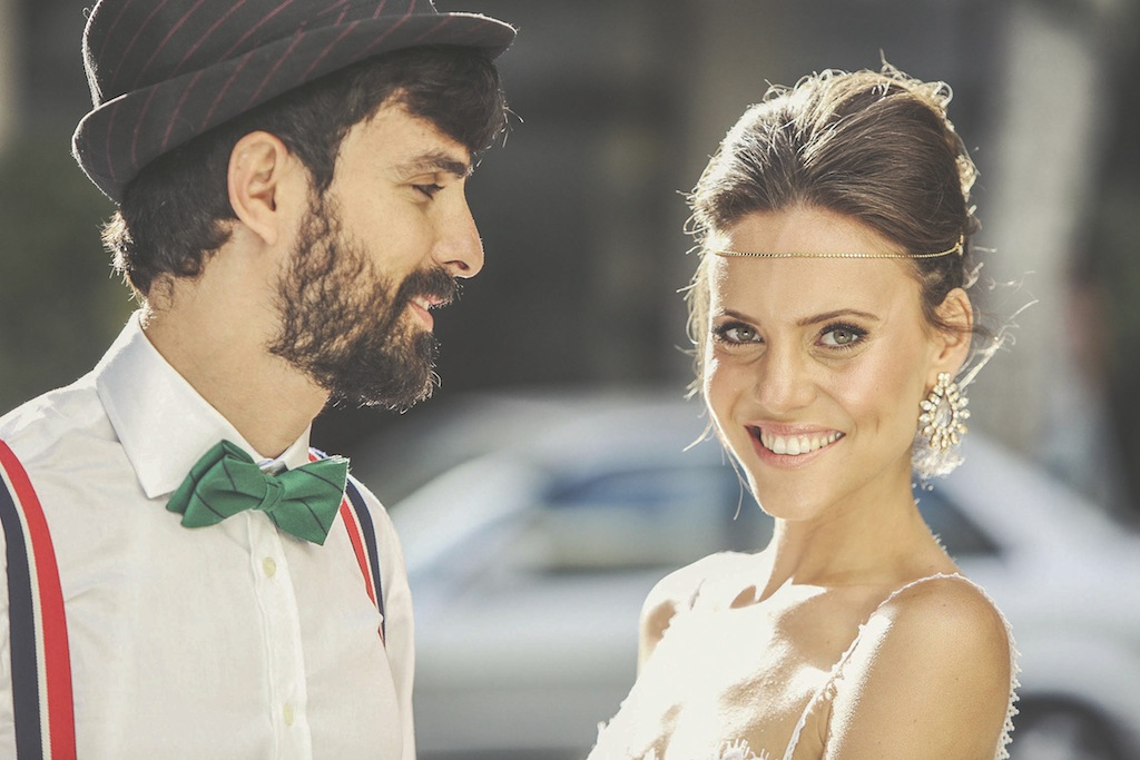 החתונה התל אביבית של מרב ואיתי