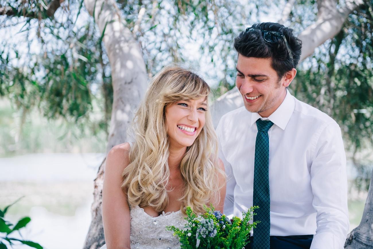 חתונה בקונספט גיאומטרי בחוף ניצנים