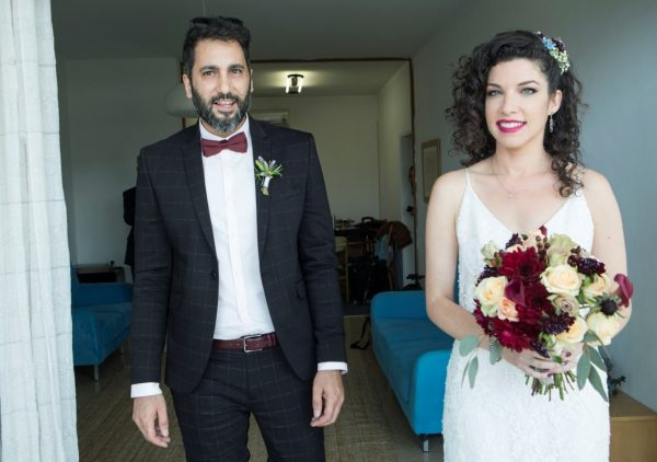 מברוכ עליכם: החתונה של לאה ותאיר