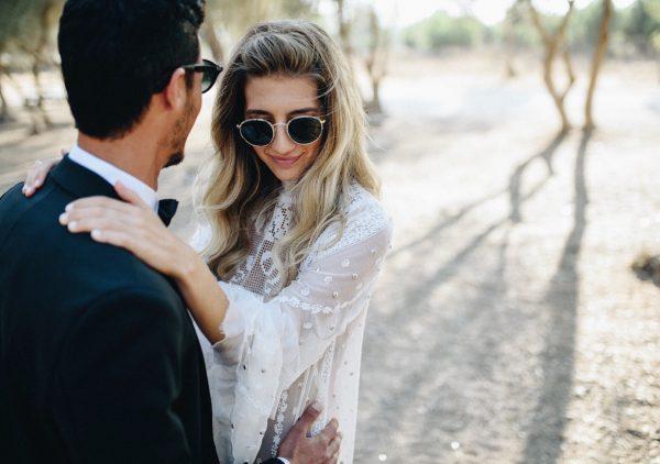 בשמלה מושלמת של ויוי בלאיש: החתונה של שרין ומושיק