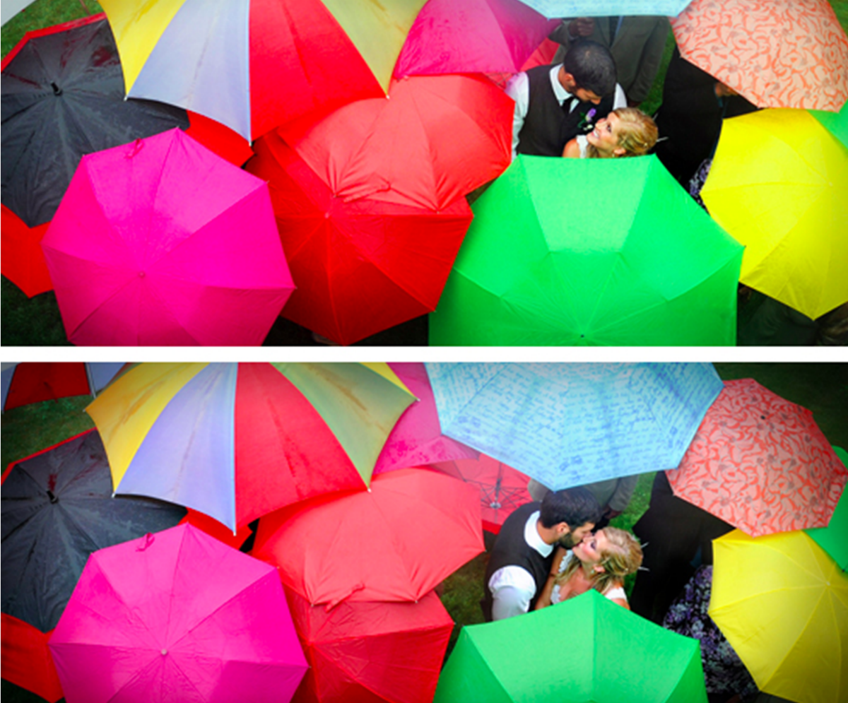 כלה במגפיים: חתונות חורף רטובות
