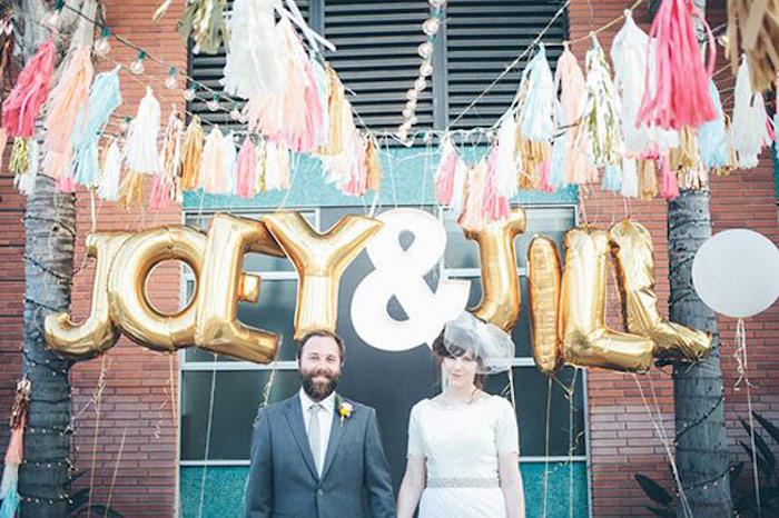 רעיונות DIY לעמדות צילום לחתונה