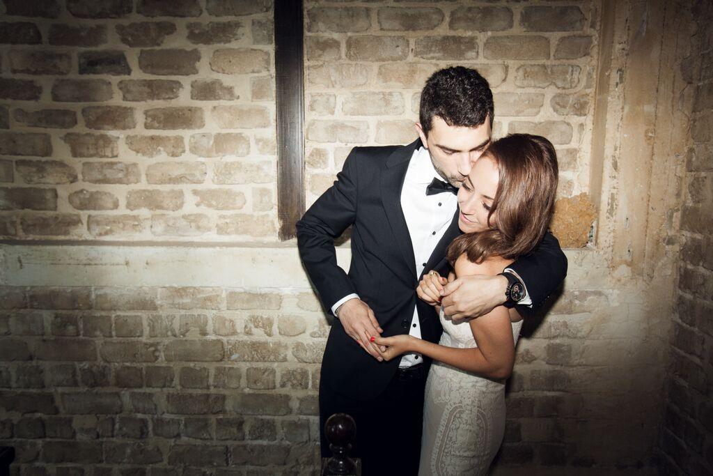 החתונה האורבנית של ענבל ואסף