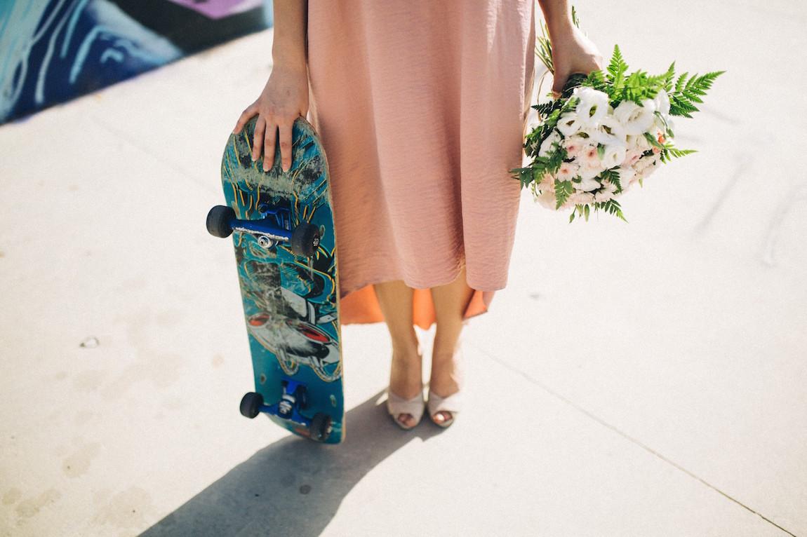 הפקת אופביט: skater bride