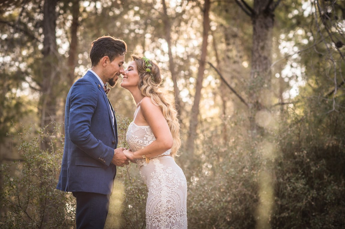 חתונת סוקולנטים ביער