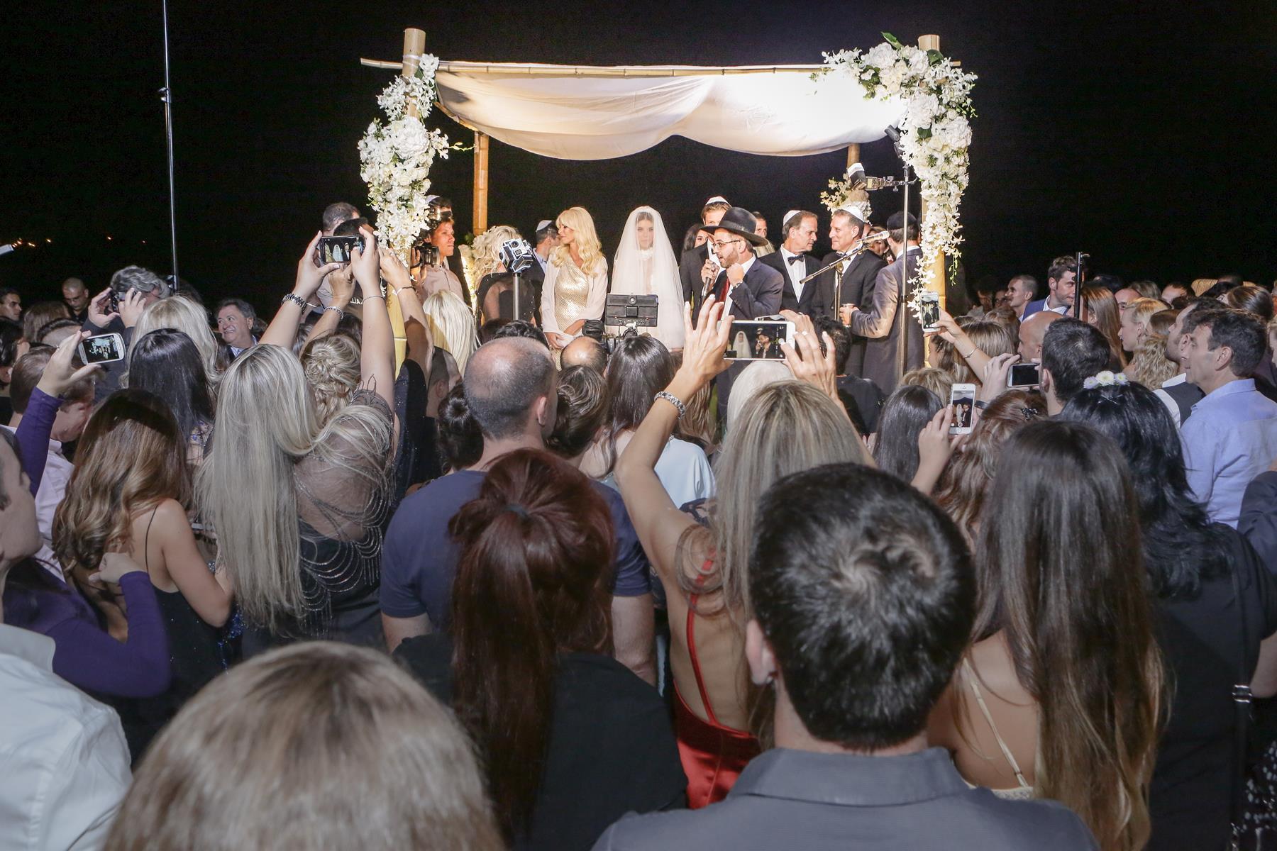 הצצה לחתונה של לירן כוהנר וגיא גיאור