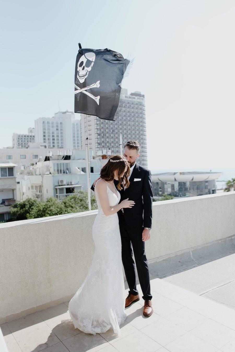 חתונה קטנה ביפו עם 50 מוזמנים