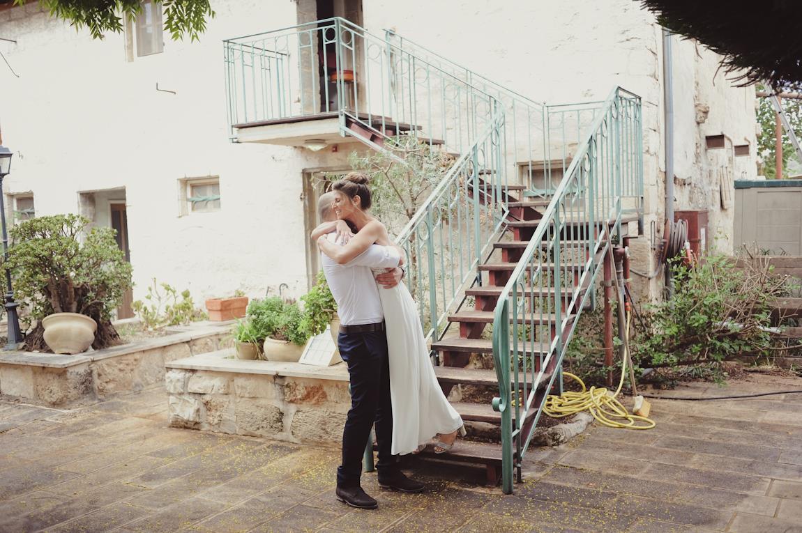 החתונה של שגיא ועמרי בבית לחם הגלילית