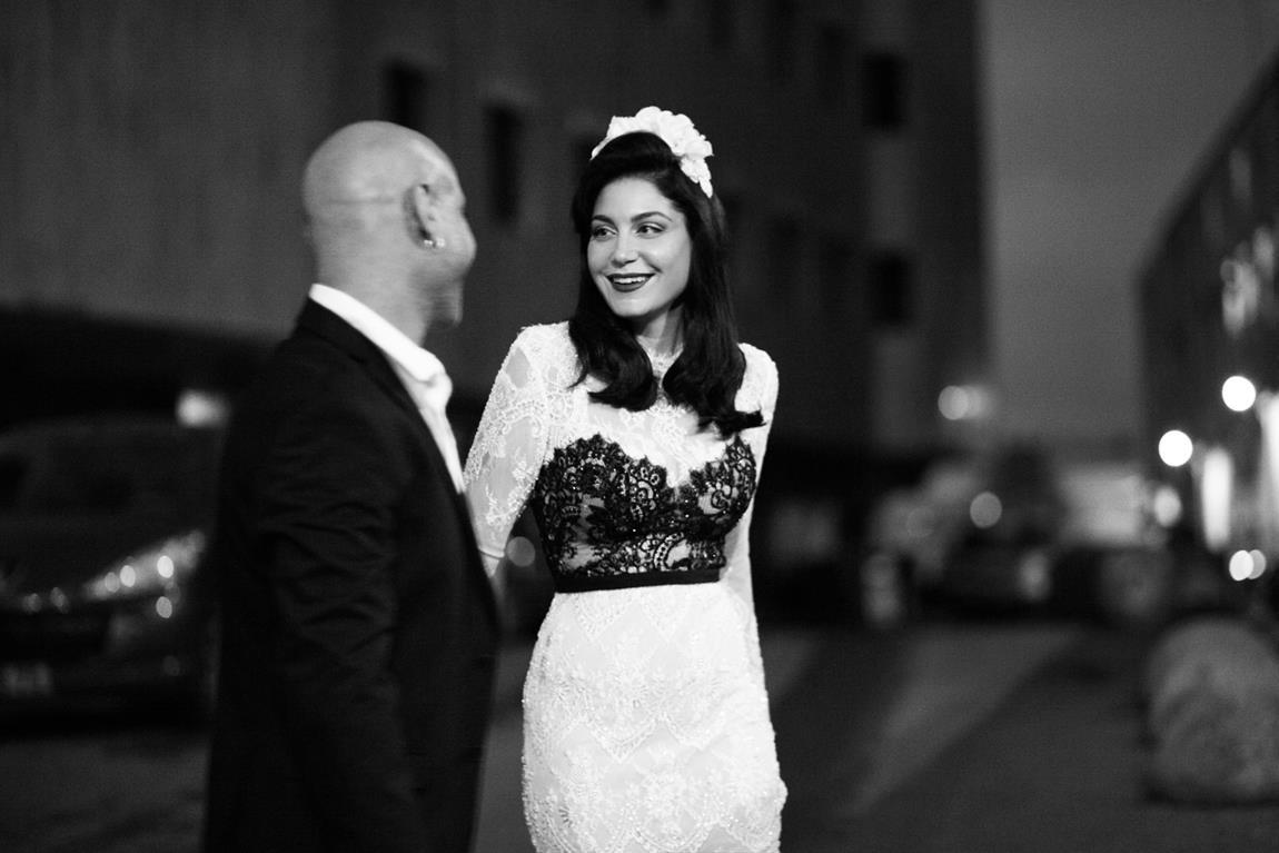 סטייל בשחור לבן - החתונה של טל ואיציק