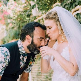 חתונת בוהו בקיבוץ