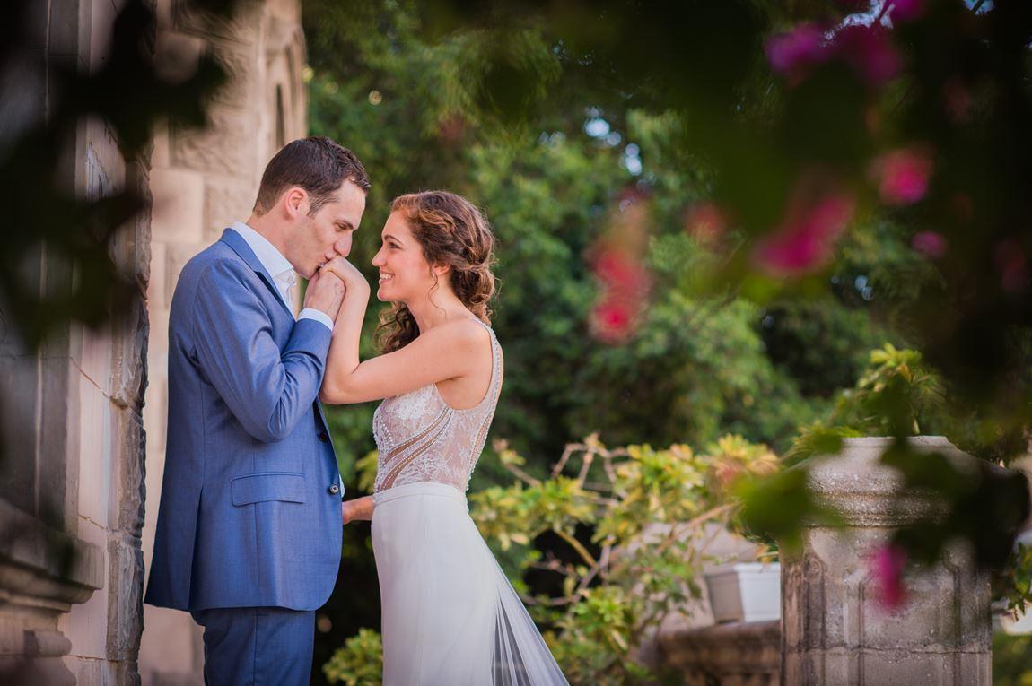 החתונה של דנה וג'יימס