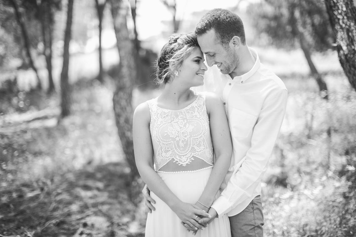 חתונת שישי מול הים: נטע ותום