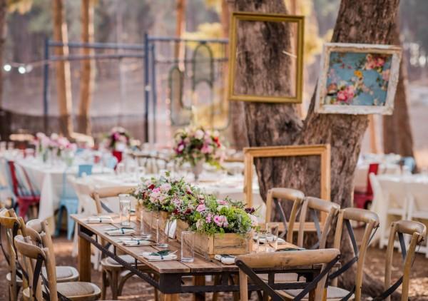 טוויסט עיצובי: חתונה באווירה צוענית בלב היער